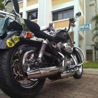 08 Sept, Harley-Davidson Sportster XL883L