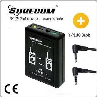SR-629 2 in 1 Duplex Repeater Controller FREE CABLE for YAESU radio