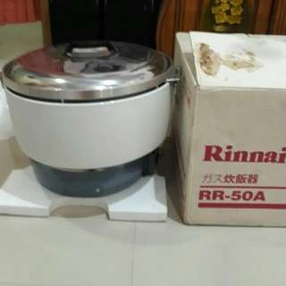 Rice Cooker N Magic Com Gas Rinai