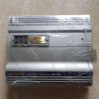 Alpine amplifier 4/3/2 channels