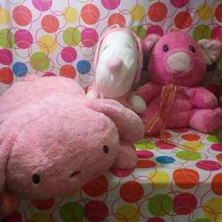 Stuffed Toys pink