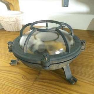 工業復古風,老品,全銅製燈座,收藏價3800元