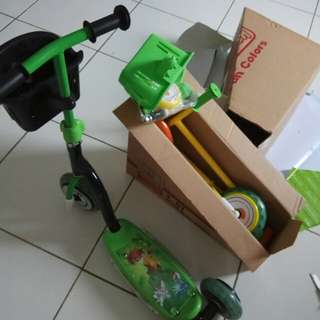 Scooter new/scooter/sepeda anak/sepeda dorong anak