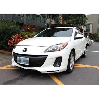 2010 Mazda3 2.0 白