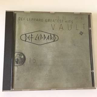 DEF LEPPARD GREATEST HITS 1980-1995