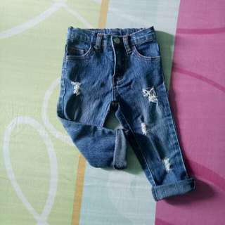 Repriced Mossimo Ripped jeans