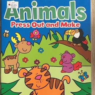 Animals Sticker Activity