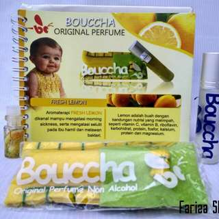 Bouccha original kids perfume non alcohol Fresh Lemon