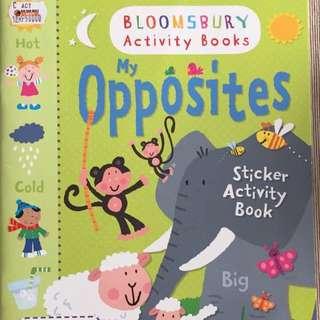 My Opposites - Sticker Activity Book