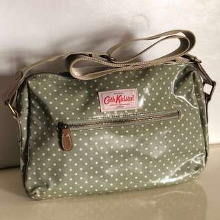 Authentic Cath Kidston Little Spot Double Zip Bag