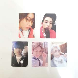 NCT Dream / NCT127 photocard