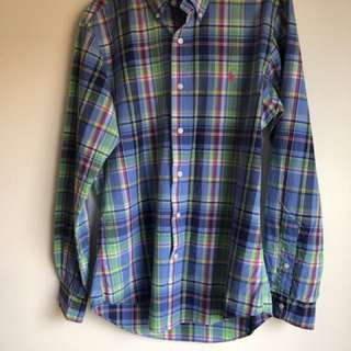 Polo Ralph Lauren checkered long sleeve shirt