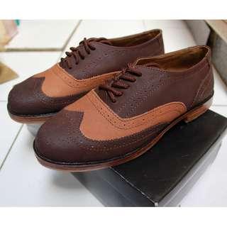 Sepatu Oxford Kulit Asli