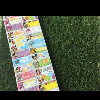 Name Stickers (Large)