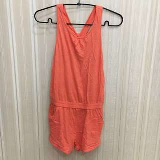 Zara Jumpsuit orange