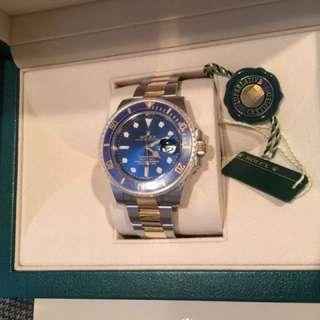 Rolex 116613 brand new