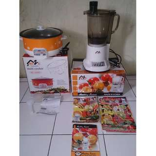 blender & multi cooker mitzui