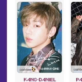 Wanna One Traffic Card