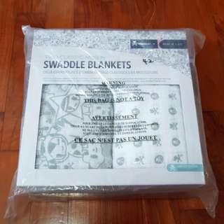 Bnib tokidoki x Bebe Au Lait , 2 classic Muslin Swaddle Blankets: $58 include registered mail
