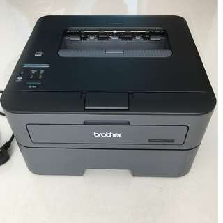 Brother Wireless Laser Printer (Black/2-sided)