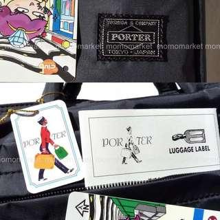 porter防水尼龍手挽袋斜咩袋shoulder bag公事包2 way MacBook Pro - 17 inch briefcase business bag返工袋側背包黑色 Black