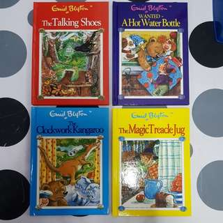 4 assorted titles by Enid Blyton