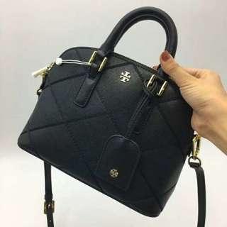 Tory Burch Top Mini Bag Black