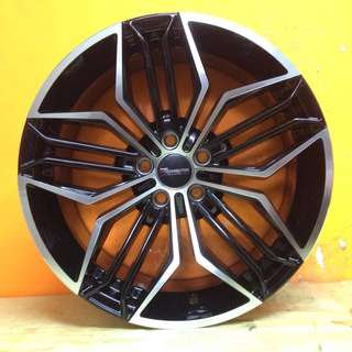 17 inch SPORT RIM TOKURA JAPAN WHEELS TOYOTA WISH