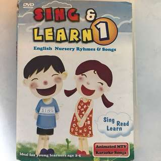 Sing and learn 1 English nursery rhymes and songs