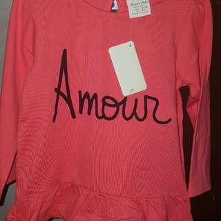 Branded Shirt for baby girl