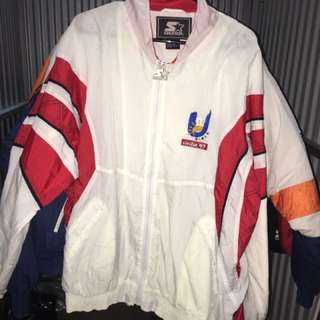 Canada Italy 1997 games starter jacket