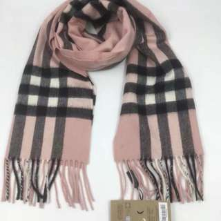 Burberry scarf 羊絨