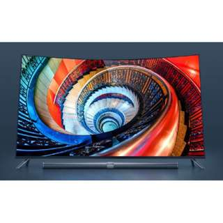 """Curved 65"""" 3S Xiaomi TV,Samsung imported ultra-thin 4K curved screen,Home Theater"""