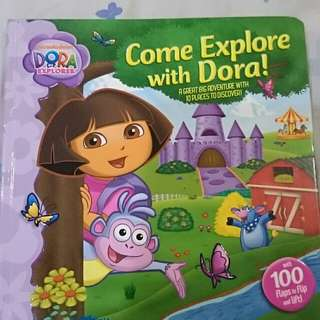 Come Explore with Dora like new