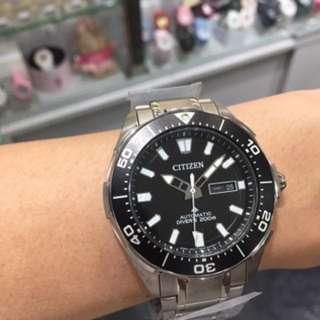 旺角門市 現貨 Citizen NY0070-83E 鈦金屬帶 自動錶 行貨 三年保養