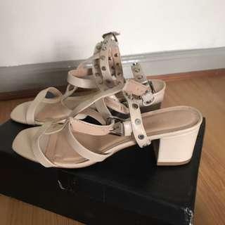 Zalora studded heels