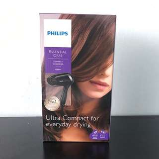 $38 PHILIPS HAIR DRYER PORTABLE TRAVEL COMPACT