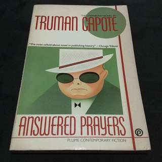 CAPOTE - Answered Prayers