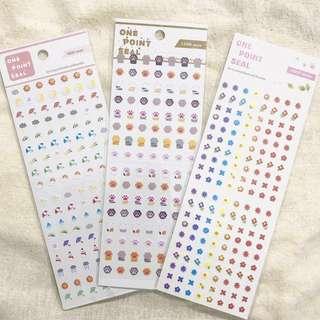 可愛記事簿小貼紙 Schedule Book Stickers