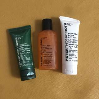 Peter thomas roth one set body care travel size