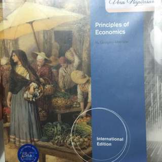 Principles of Economics 6th edition