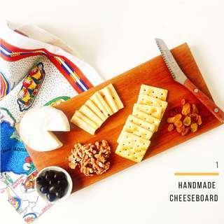 Handcrafted Wooden Cheeseboard