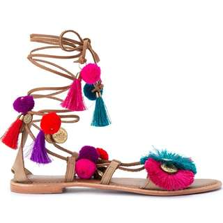 LOOKING FOR THIS TOPSHOP LACEUP SANDALS SIZE 6