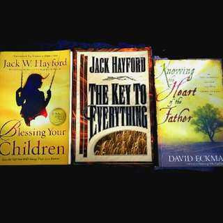 3 Bn Blessing Your Children The Key To EverythingBy Jack W. Hayford / Knowing the Heart Of The Father By David Eckman