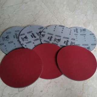 Pre-Order Sale - SiaAir Sanding Pad For Bowling Ball (Mirka Abralon Equivalent)
