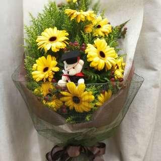 Gerbera bouquet. Quick sell