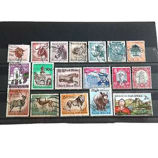 South africa used stamps#2