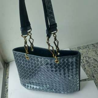 Authentic BV Bottega leather bag
