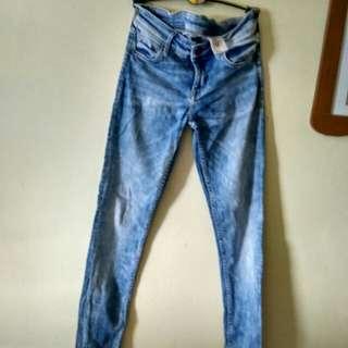 #Maudecay#.  Celana Panjang gadis jeans