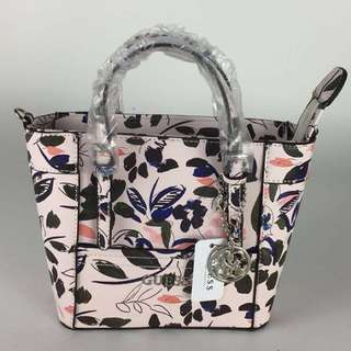 Authentic Guess mini floral cross body